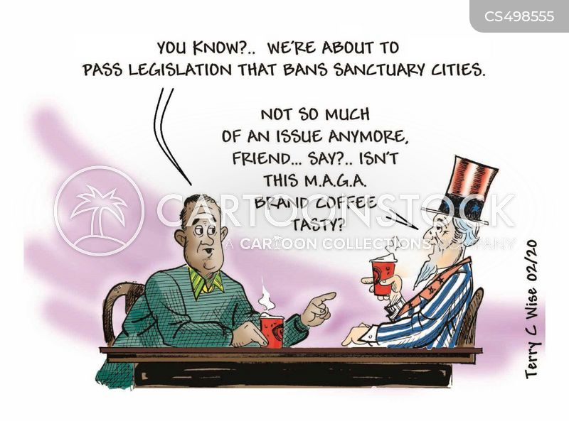 Sanctuary City cartoons, Sanctuary City cartoon, funny, Sanctuary City picture, Sanctuary City pictures, Sanctuary City image, Sanctuary City images, Sanctuary City illustration, Sanctuary City illustrations