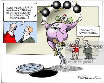 Investment Bank News and Political Cartoons