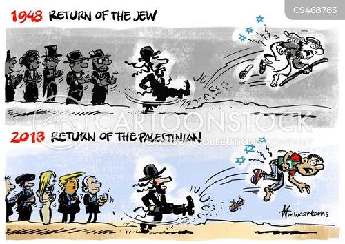Gaza Strip News And Political Cartoons