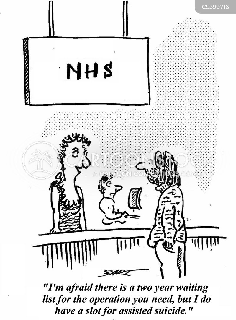 Image result for nhs waiting cartoon