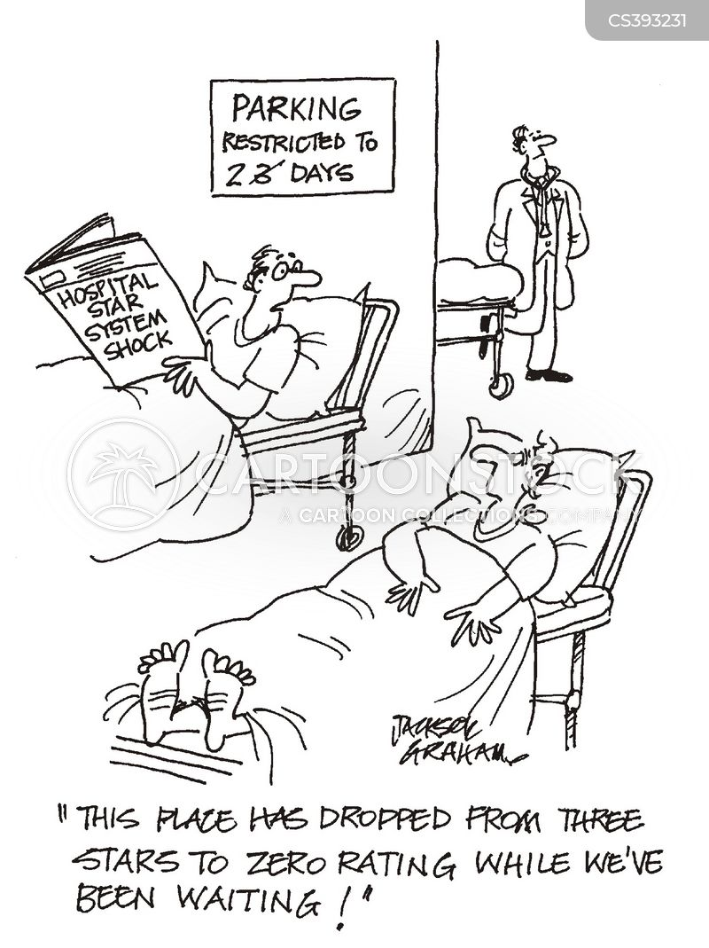 Image result for waiting nhs cartoon