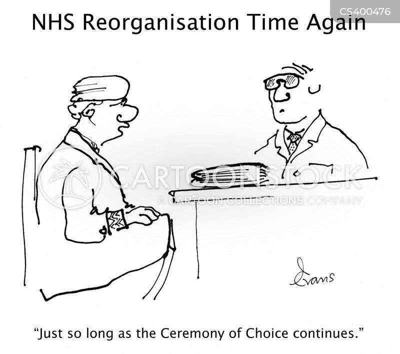 Image result for choice in the NHS cartoon