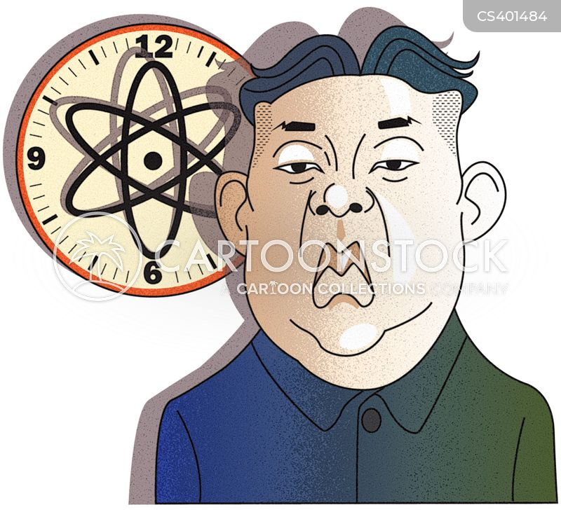 Image result for N. Korea LEADER CARTOON