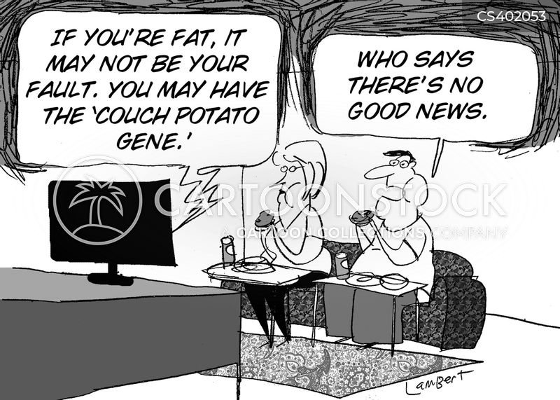Obese Couch Potato Genetics News a...