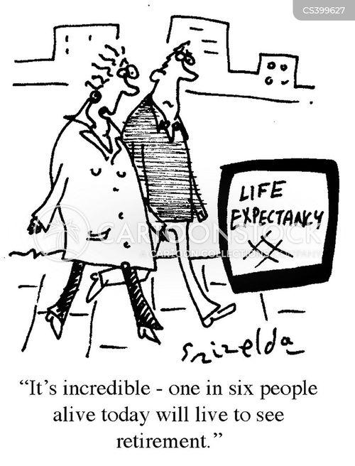 Life Expectancy News And Political Cartoons