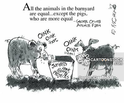 animal farm a story of political Animal farm is a short novel by george orwell like nineteen eighty-four, the story is one of the most famous political allegories in the world.