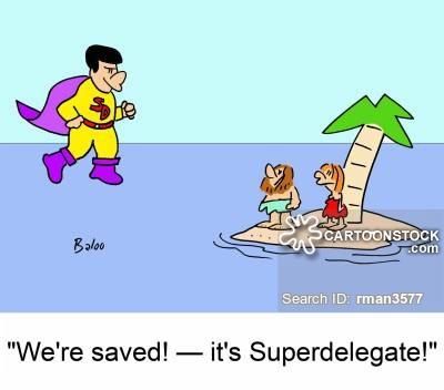 Super Delegates News And Political Cartoons - Delegates and superdelegates