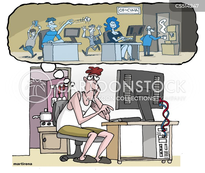 Work From Home cartoons, Work From Home cartoon, funny, Work From Home picture, Work From Home pictures, Work From Home image, Work From Home images, Work From Home illustration, Work From Home illustrations