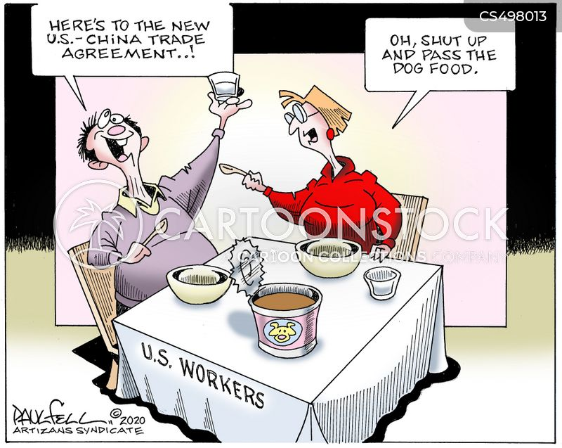 Us-china Trade Deal cartoons, Us-china Trade Deal cartoon, funny, Us-china Trade Deal picture, Us-china Trade Deal pictures, Us-china Trade Deal image, Us-china Trade Deal images, Us-china Trade Deal illustration, Us-china Trade Deal illustrations
