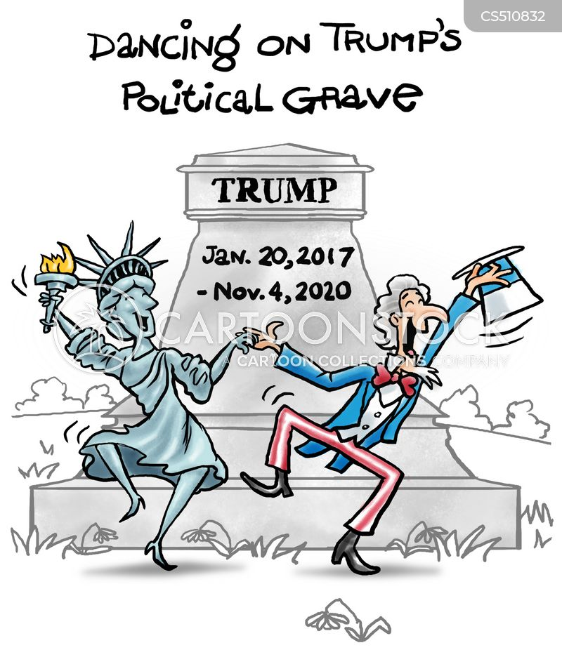 Dancing On Trump's Political Grave cartoons, Dancing On Trump's Political Grave cartoon, funny, Dancing On Trump's Political Grave picture, Dancing On Trump's Political Grave pictures, Dancing On Trump's Political Grave image, Dancing On Trump's Political Grave images, Dancing On Trump's Political Grave illustration, Dancing On Trump's Political Grave illustrations