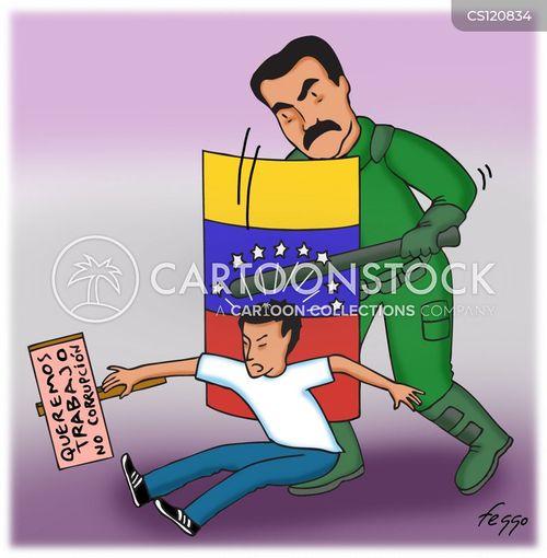 Image result for Venezuela Protest CARTOON
