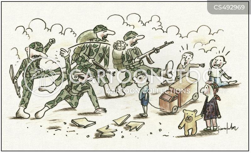 Wars cartoons, Wars cartoon, funny, Wars picture, Wars pictures, Wars image, Wars images, Wars illustration, Wars illustrations