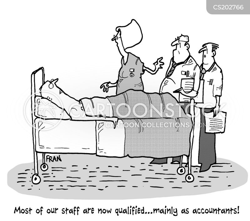 how to become a hospital accountant