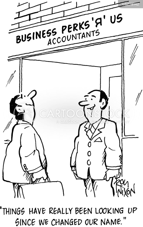 accountancy firm cartoon