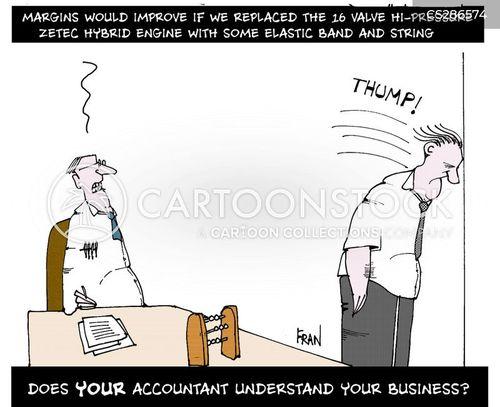 business management cartoon