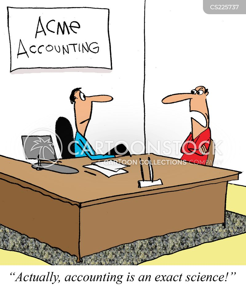 personal accountant cartoon