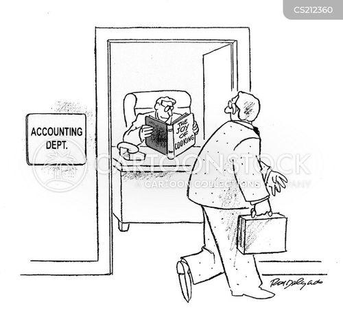 accounts departments cartoon