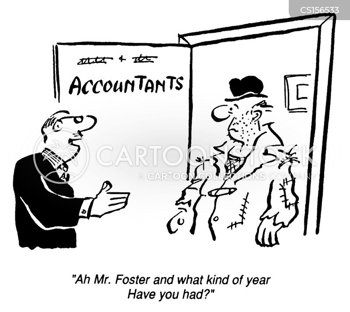 economic slump cartoon