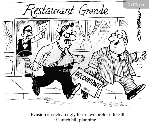 tax bill cartoon