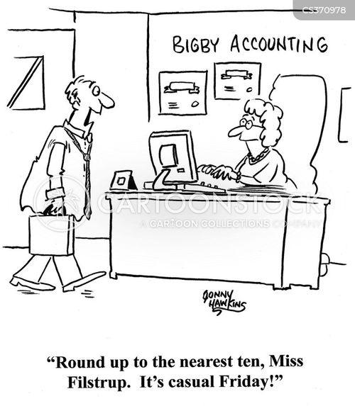 rounding up cartoon