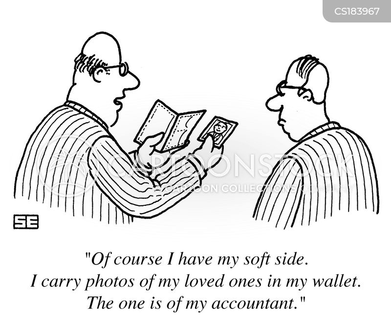 wallets cartoon