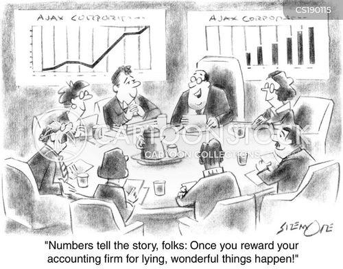 accountanting cartoon