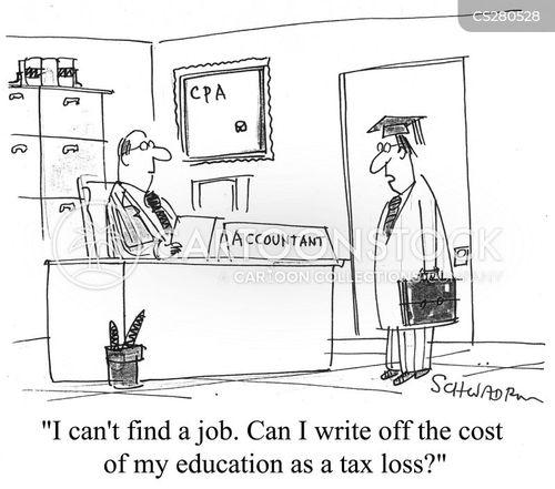 education cost cartoon
