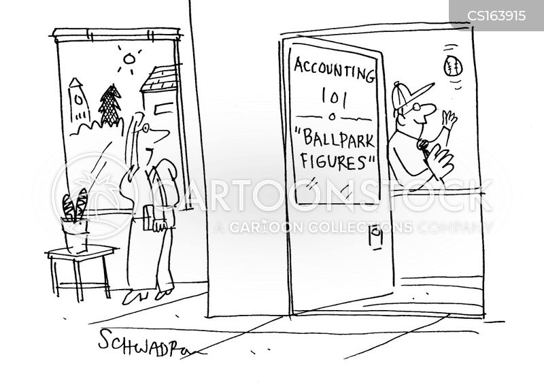 ballpark figure cartoon