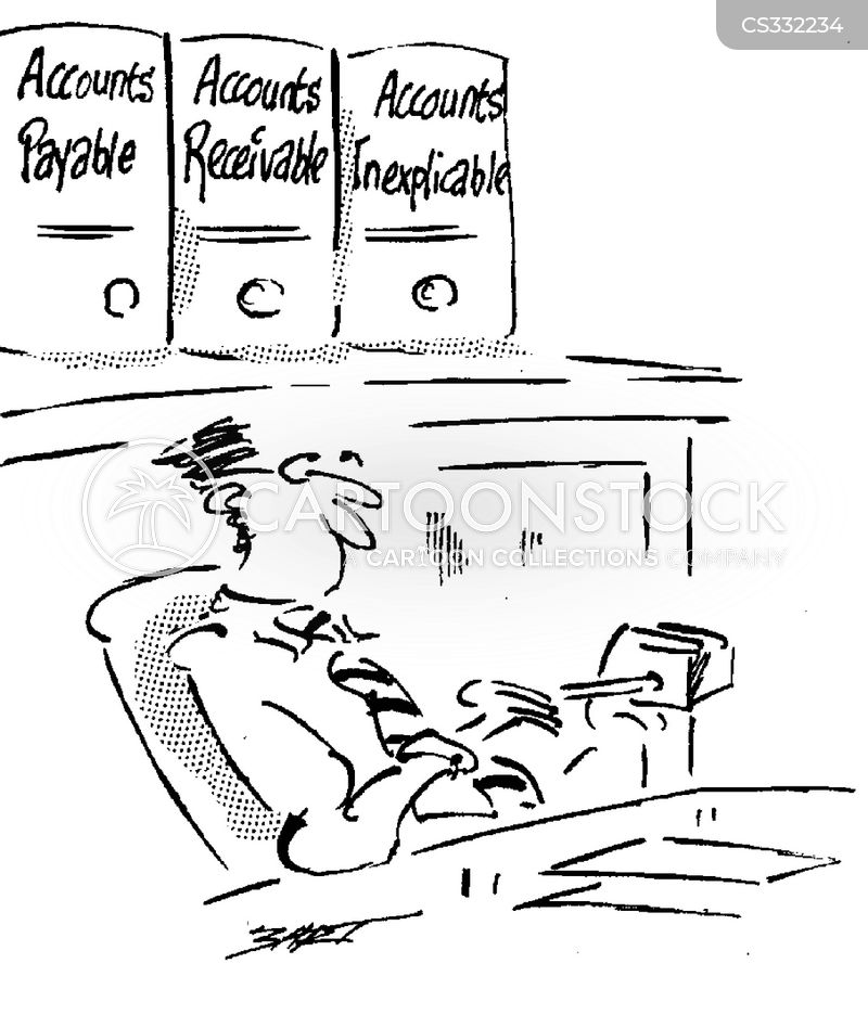 accounts receivable cartoon