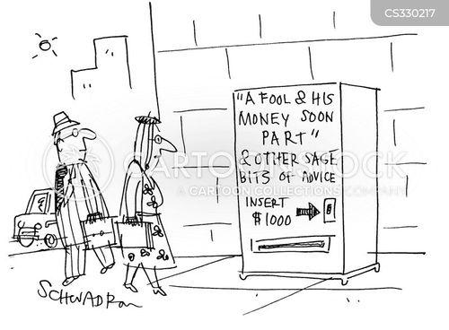 sage advice cartoon