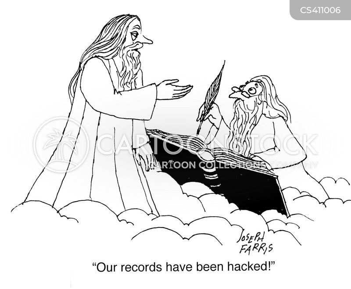 computer hackers cartoon