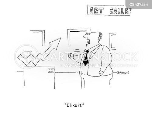 upturn cartoon