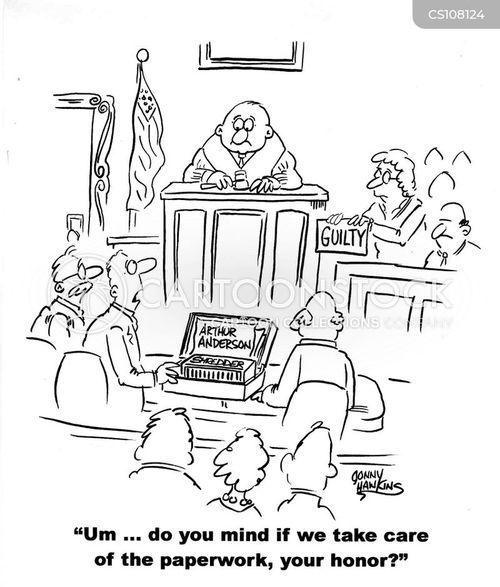 enron cartoon