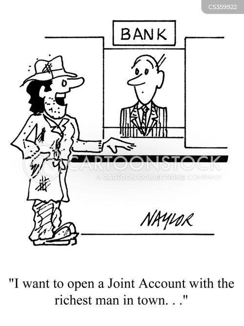 Joint Account Cartoons And Comics