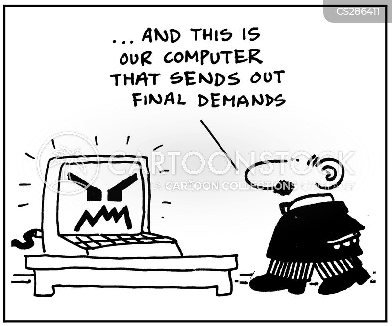 final demands cartoon