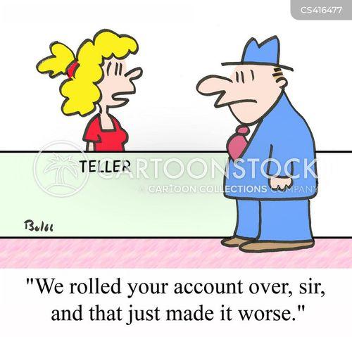 good customer service cartoon