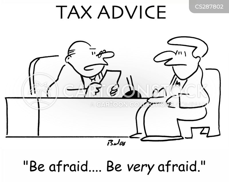 be afraid cartoon