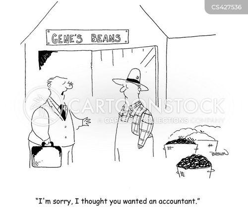 bean counters cartoon