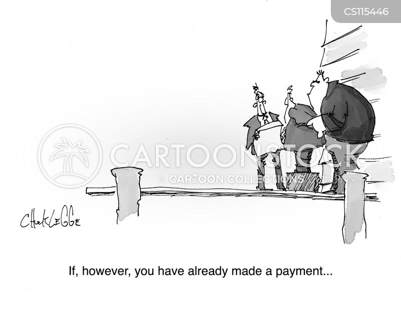 Billing Statement Cartoons And Comics  Funny Pictures From Cartoonstock