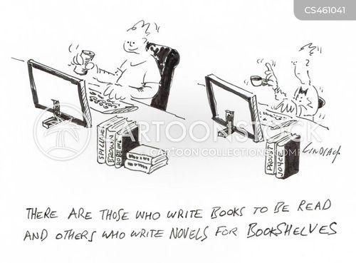 popular fiction cartoon