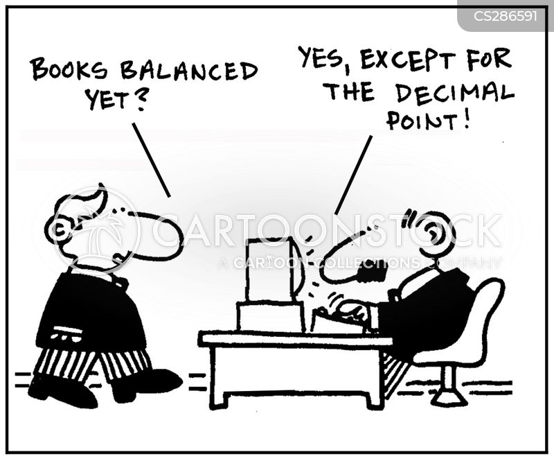 decimal point cartoon