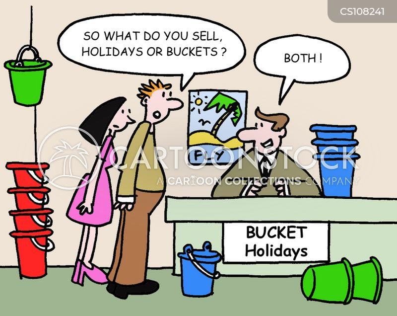 Cheap Vacation Cartoons And Comics Funny Pictures From CartoonStock - Budget vacations