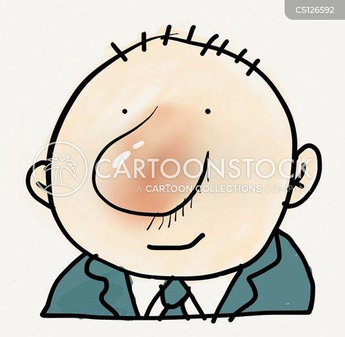 average man cartoon