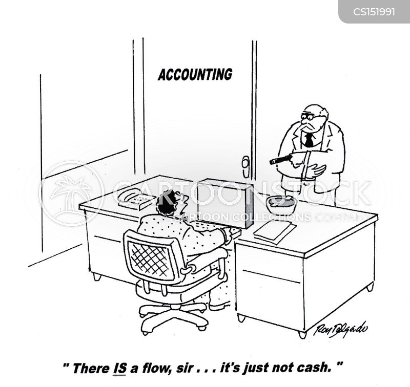 Cash Flow Cartoons and Comics - funny pictures from CartoonStock
