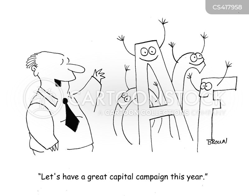 nonprofit organizations cartoon