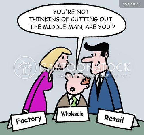 wholesalers cartoon