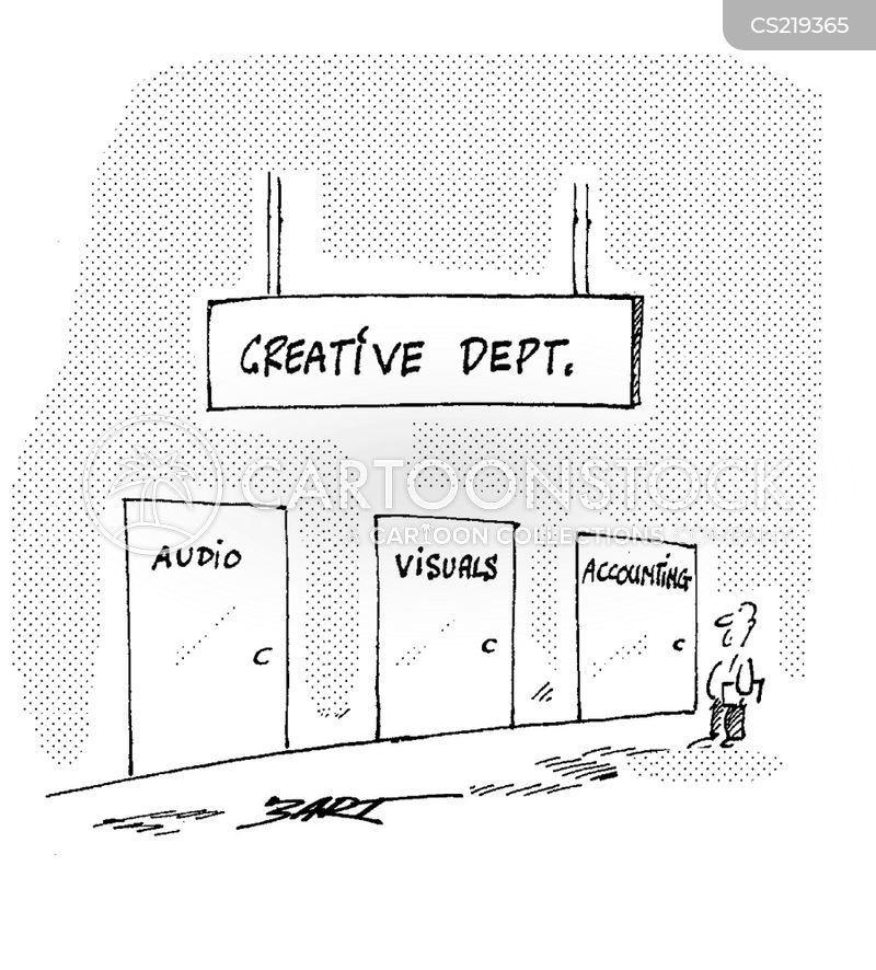 The creative department