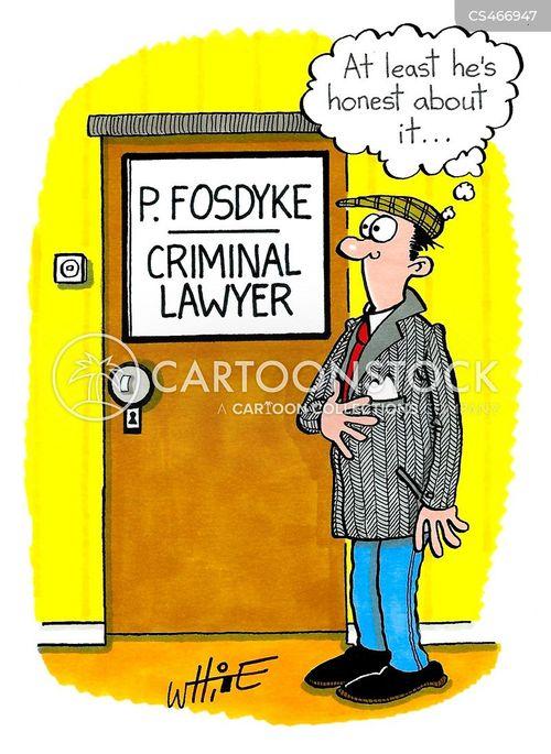 criminal law cartoon