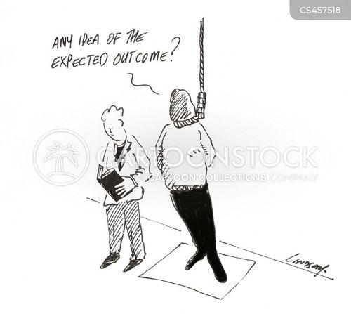 gallows cartoon