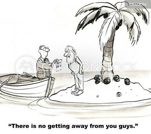 hideaways cartoon